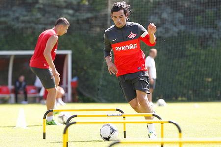 Тино Коста провел первую тренировку в «Спартаке»