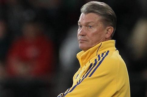 На матч с Англией Олег Блохин взял 20 футболистов