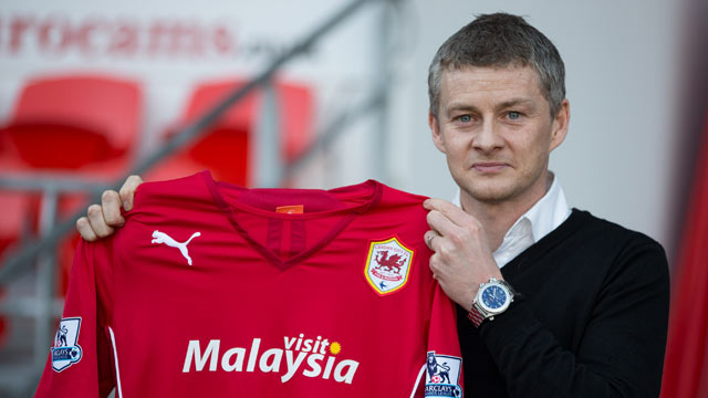 Super-sub Ole Gunnar Solskjær comes on for Malky Mackay