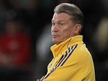 Blokhin is at the helm of Dynamo Kiev, saying farewell to the national team