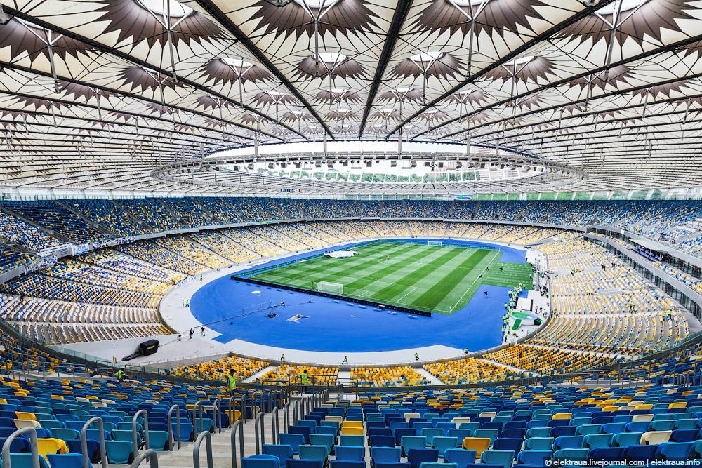 Финал Лиги чемпионов может быть проведён на НСК «Олимпийский»