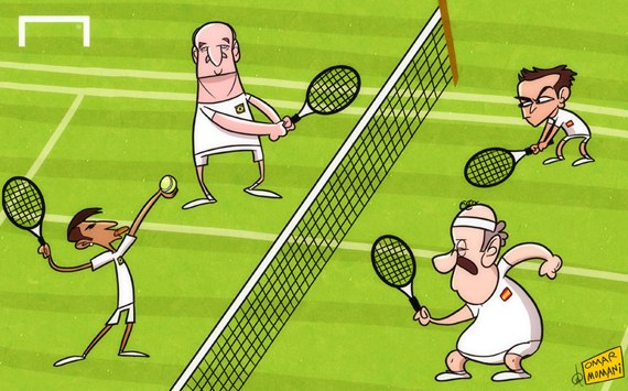 Лучшая карикатура дня. Финал Кубка конфедераций Бразилия — Испания