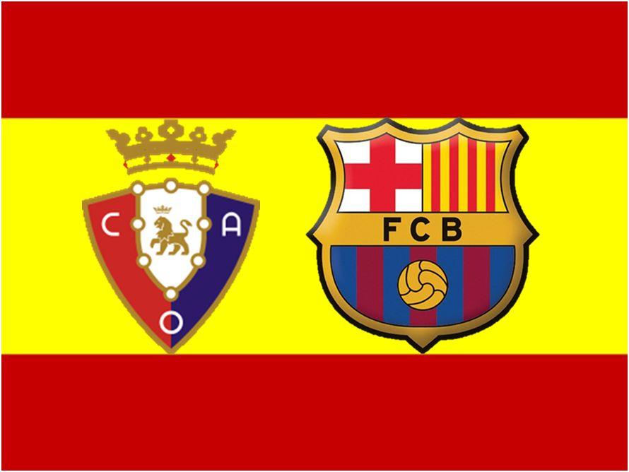 Испанская Ла лига. 2-й тур. «Барселона» едва не оступилась на «Осасуне»