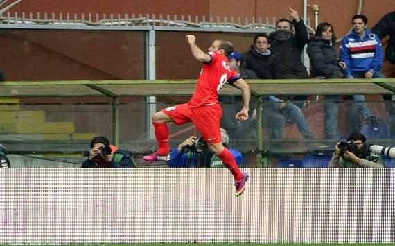 Итальянская Серия А. «Сампдория» —  «Интер» — 0:2. «РодриГол»