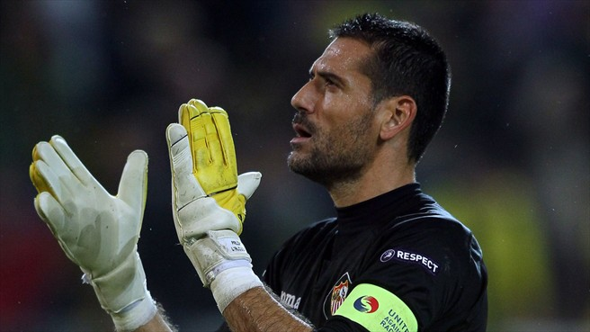 Bayer Leverkusen signed Palop from Sevilla
