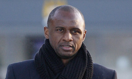 Man City handed coaching role to Vieira