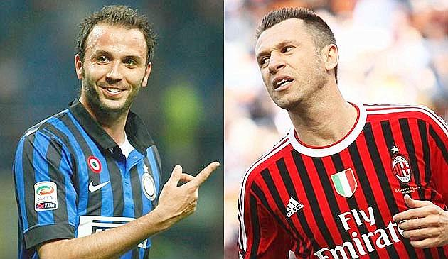Pazzini for Cassano: player-exchange deal