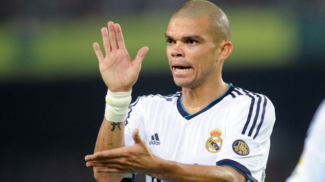 Real Madrid Pepe returned on Manchester City wish list