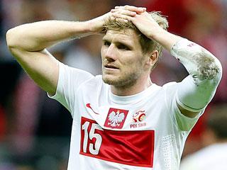 Перкис едва не лишился ноги из-за травмы в матче с Россией