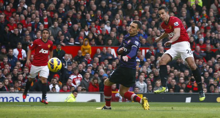 Английская Премьер-лига. «Манчестер Юнайтед» — «Арсенал». Онлайн-трансляция начнется в 20.10
