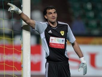 Основной вратарь «Анжи» Габулов, скорее всего, не сыграет против «Удинезе»