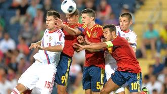 Молодежный чемпионат Европы. Испания обыграла Россию