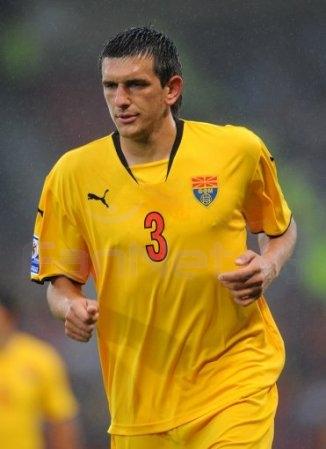 «Сток Сити» взял в аренду македонского защитника