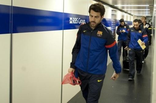 «Барселона» отклонила второе предложение «МЮ» по Сеску Фабрегасу