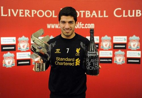 Суарес вновь признан игроком месяца в «Ливерпуле» (ФОТО)