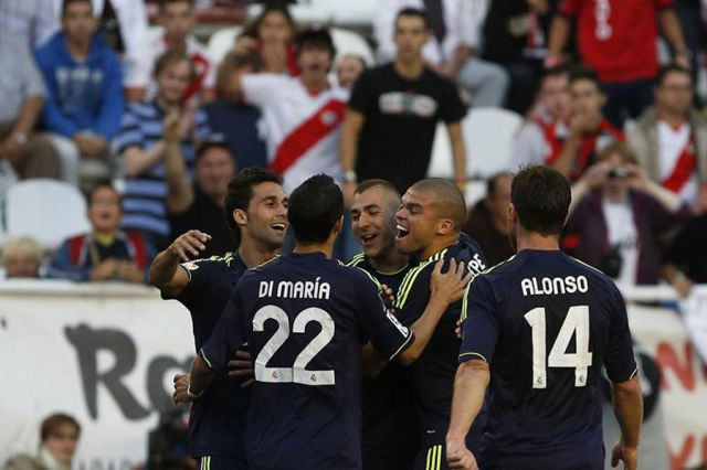 Real Madrid is back on track after a 2-0 victory over Rayo Vallecano