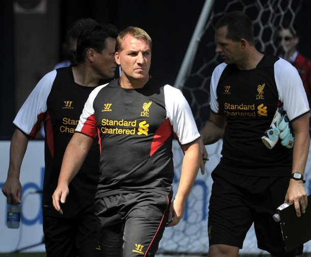 Брендан Роджерс: «Доволен началом работы в «Ливерпуле»