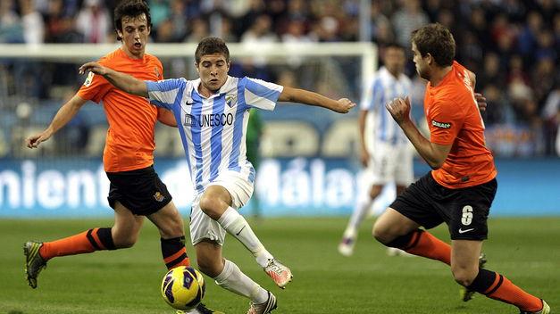 Испанская Ла лига. 30-й тур. «Реал Сосьедад» — «Малага». Прогноз. «В бело-синих цветах»
