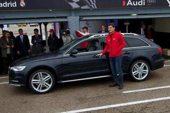 Футболисты «Реала» получат новые автомобили Audi