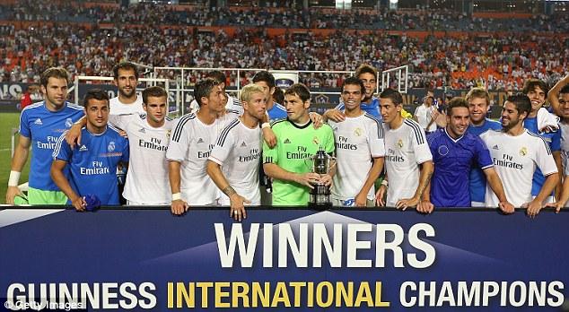 Guiness Cup. «Реал» Мадрид — «Челси» — 3:1 (ВИДЕО)