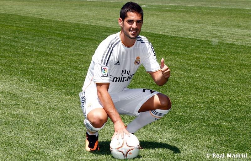 Иско официально представлен в качестве игрока «Реала» (ФОТО)