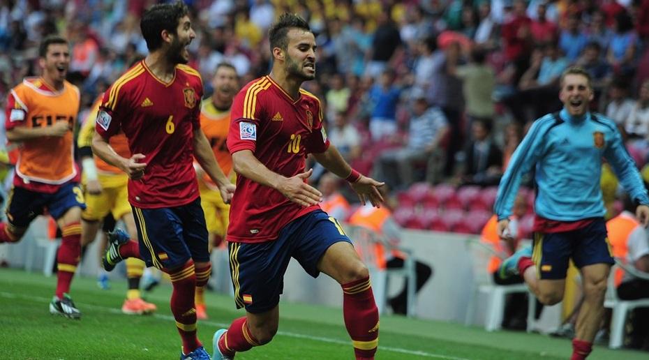 Чемпионат мира (U-20). 1/4 финала. Уругвай — Испания — 1:0. Хроника событий