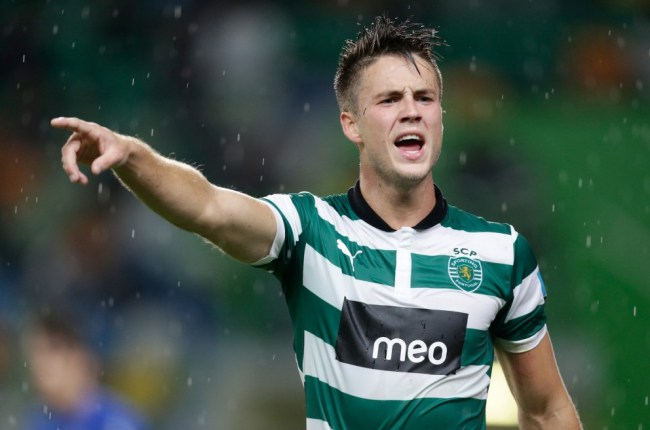 Sporting Van Wolfswinkel looking forward to Norwich switch