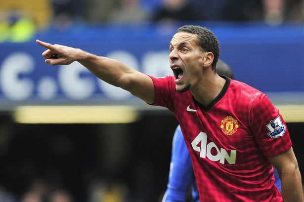 Ferdinand extended his deal with Man United