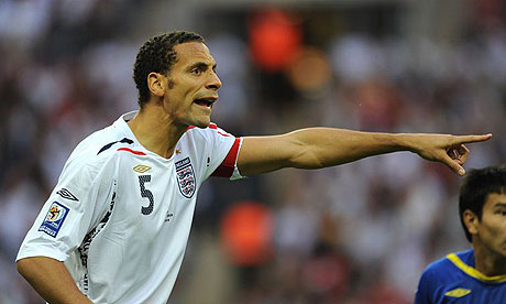 Rio Ferdinand retired from international football