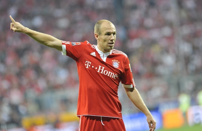 """Robben: """"Three titles is the goal for the season"""""""