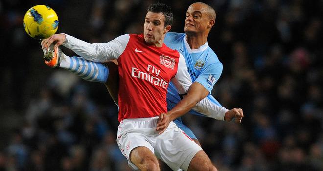 Винсент Компани: «Ван Перси усилил бы «Манчестер Сити»