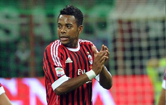 Бразильский нападающий «Милана» Робиньо выбыл на месяц из-за травмы
