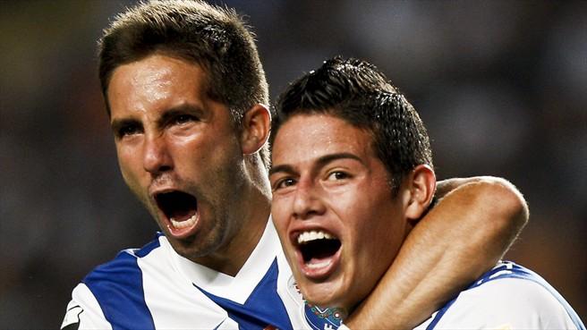 Monaco on the verge of signing Porto Moutinho and Rodriguez