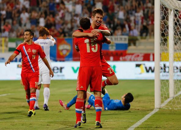 Россия опустилась на три позиции в рейтинге ФИФА