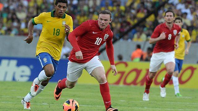International friendlies' results: Brazil 2-2 England