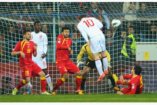 World Cup qualification results: Europe. Montenegro 1-1 England and other matches