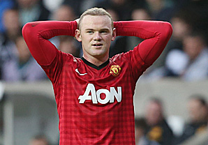 Rooney set to miss Liverpool clash due to injury setback