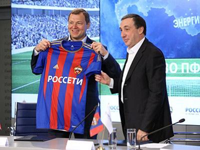 ЦСКА будет получать от «Россетей» около 26 миллионов долларов в год