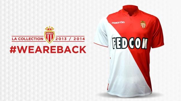 «Монако» представил образец формы для сезона-2013/14 (ФОТО)