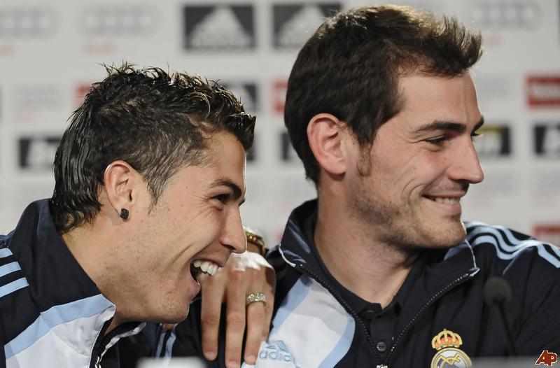 Икер Касильяс: «Месси и Роналду — лучшие в мире игроки»
