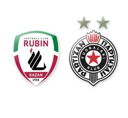 Лига Европы. Группа «Н». «Рубин» переиграл «Партизан»