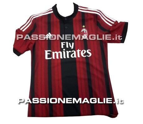В интернете появились фотографии формы «Милана» на сезон-2014/15 (ФОТО)