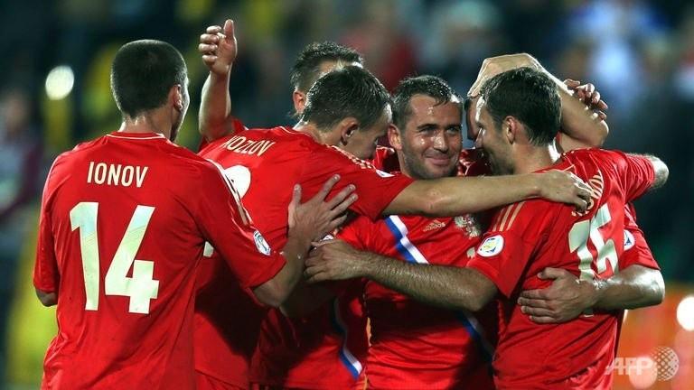 Чемпионат мира-2014. Отборочный турнир. Люксембург — Россия. Онлайн-трансляция начнется в 22.30