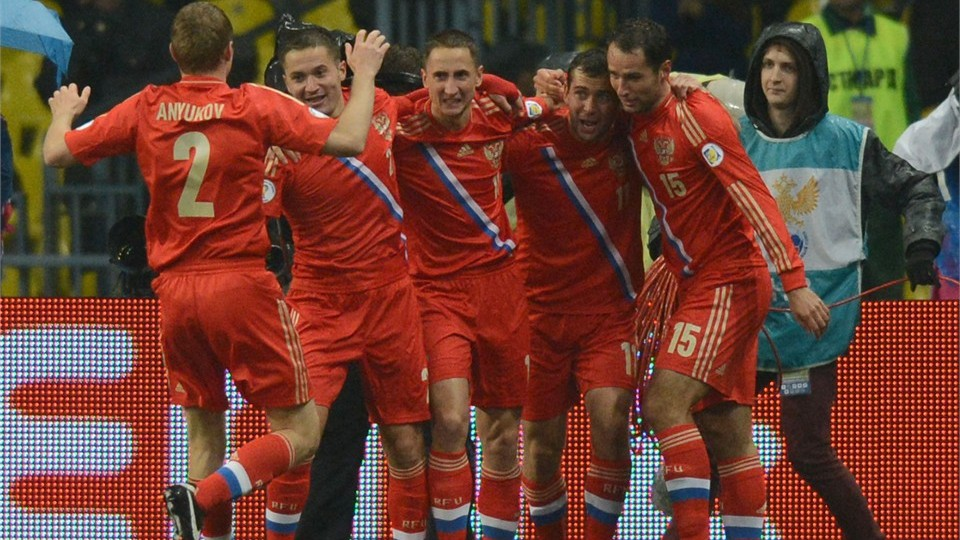 Чемпионат мира-2014. Россия — Люксембург — 4:1. Хроника событий