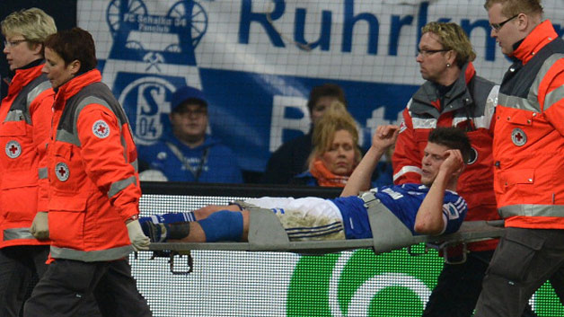 Huntelaar starts individual training