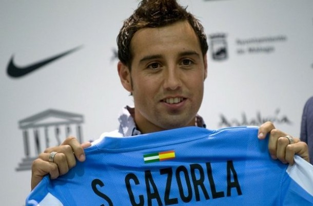 Santi Cazorla is leaving Malaga this summer to join Arsenal
