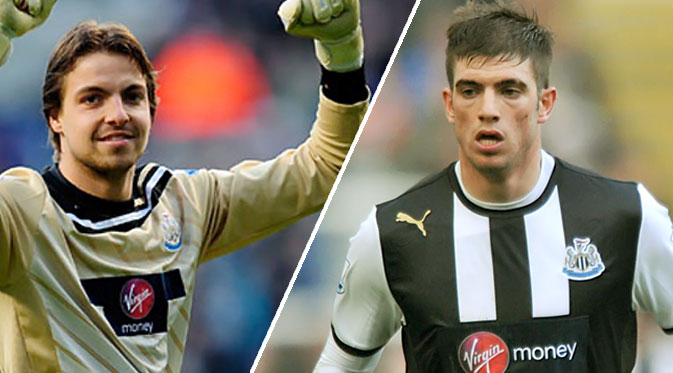 Milan chase Newcastle pair