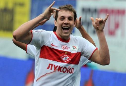 «Спартак» отпустит Дзюбу за 8 миллионов евро