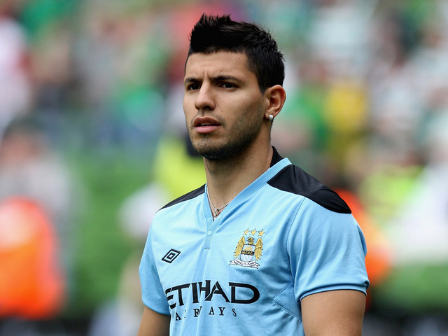 Aguero signed a new deal with Man City