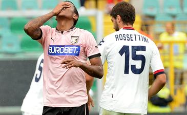 Итальянская Серия А. 3-й тур. «Палермо» и «Кальяри» сыграли вничью